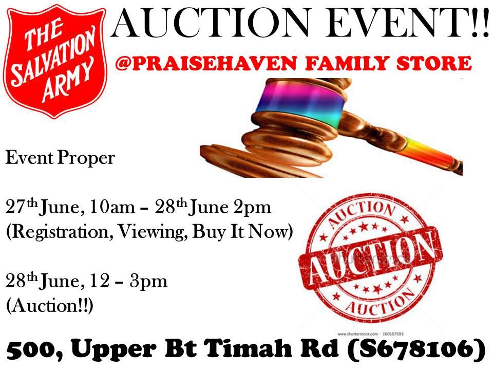 AUCTION EVENT!!