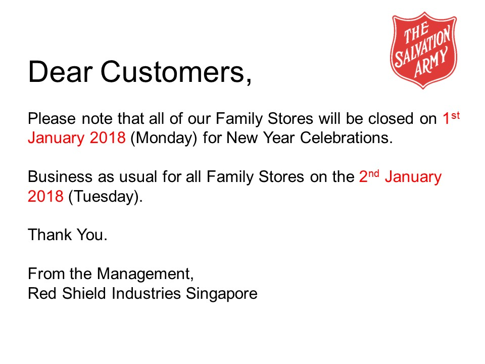 store-closure-new-year